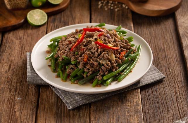 Szechuan Green Beans with KIBIF Minced Beef