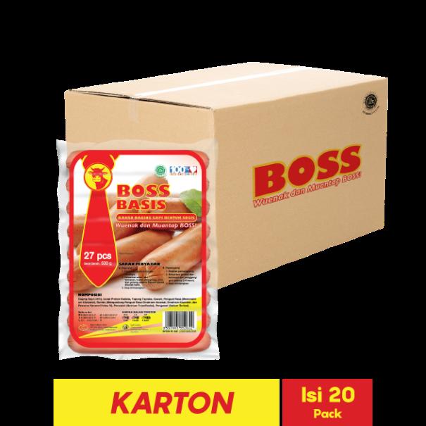 BOSS BASIS 27 PCS 530 GR