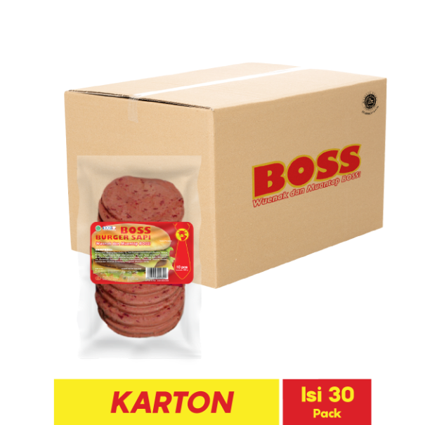 BOSS BURGER SAPI 10 PCS 280 GR
