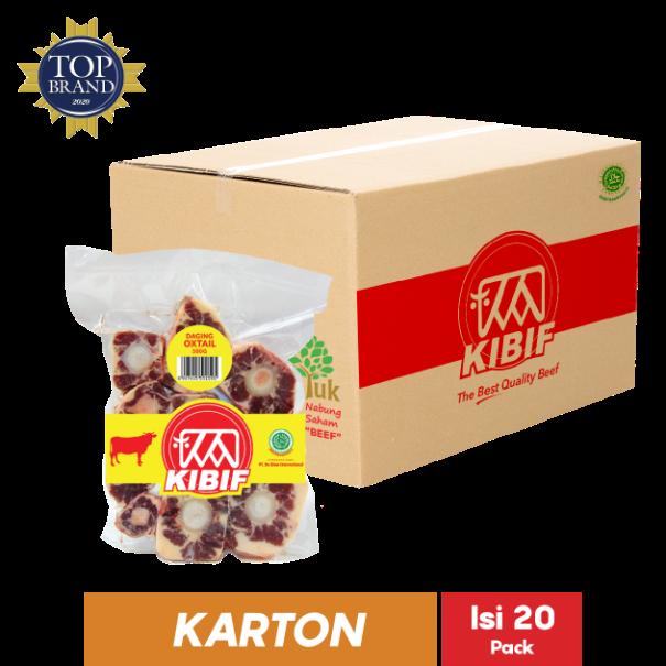 KIBIF OXTAIL CUT 500 GR - beef