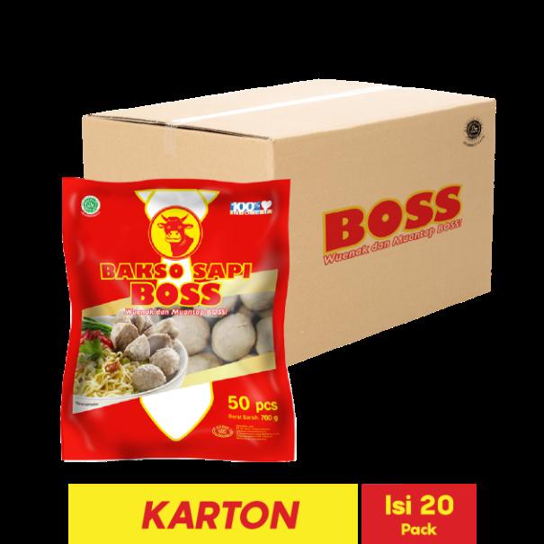 BOSS BAKSO SAPI SUPER 50 PCS 700 GR